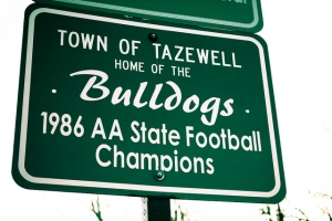 TazwellStateChampsSign